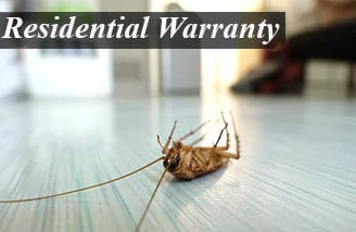 Residential Pest Control Warranty